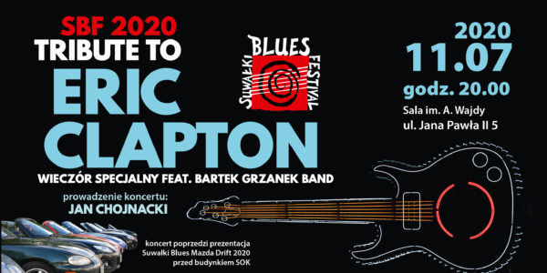 Tribute to Eric Clapton z Bartek Grzanek Band